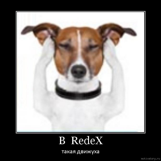 В  RedeX