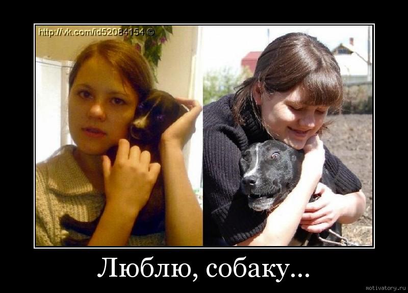 Люблю, собаку...